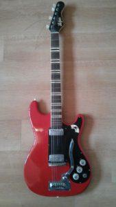 Hofner 172 vintage electric guitar.