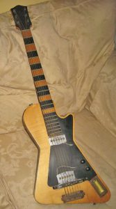 Home made electric guitar by Harry Ellis