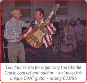 Rock 'n' Roll Charity Concert Feature in the The Cornwall Air Ambulance Newsletter