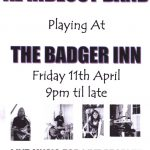 The Al Rideout Band Playing at the Badger Inn Poster