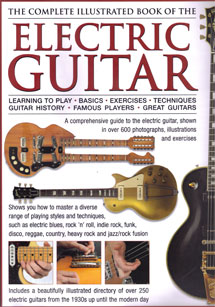 Front cover to The Complete Illustrated Book of the Electric Guitar