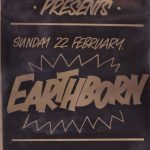 A poster for the band Earthborn