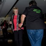 Sally jiving with Welsh DJ Crazy Tim.
