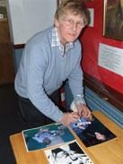 John Leyton still signing autographs!