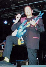 Dave Bartram reunited with the Blue Moon guitar for the first time in nearly 30 years!