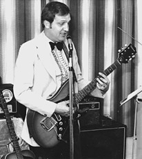 Mid-70s cabaret style and Epiphone ET-270T