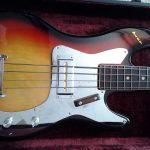 Ayar Bass Guitar close up.