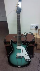 Solid 7 by Rosetti guitar