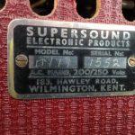 Supersound guitar amplifier.
