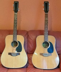 Dallas Acoustic 12 String Guitars
