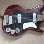 Dallas branded Fenton Weill Dualtone Guitar Body