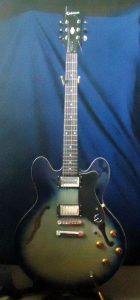 Front of Gibson Epiphone ES335 Dot. 2003
