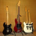 Collection of Shergold Electric Guitars