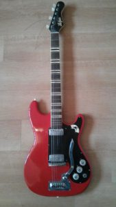 Hofner 172 vintage electric guitar.