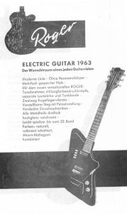 Roger 1963 Guitar