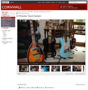 BBC - In Pictures: Guy's Guitars