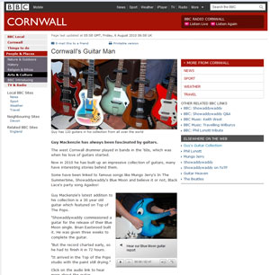 BBC - Cornwall's Guitar Man, 6 August 2010