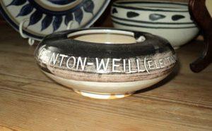 Promotional Fenton Weill ash tray