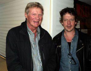 Ian Siegal with Guy Mackenzie