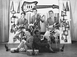 A photo of the rock 'n' roll band The Driftin' Strangers