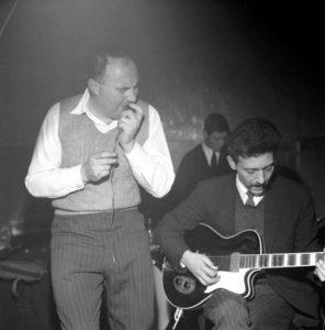Alexis Korner with Cyril Davis