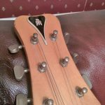 Headstock of a Barnes & Mullins Electric Guitar