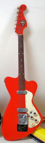 Dallas Rangemaster Guitar