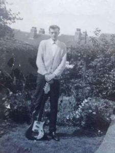 Alan Jay with his Watkins Rapier